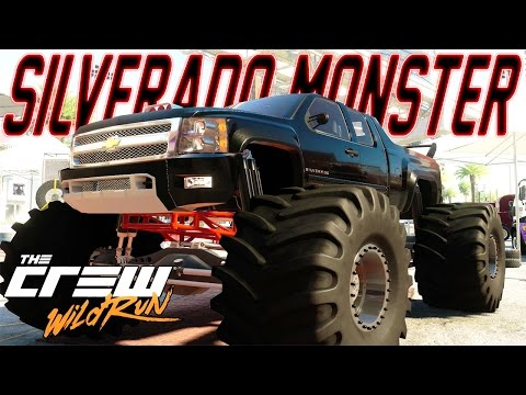 The Crew Monster Truck Build : 1000HP CHEVROLET SILVERADO MONSTER TRUCK