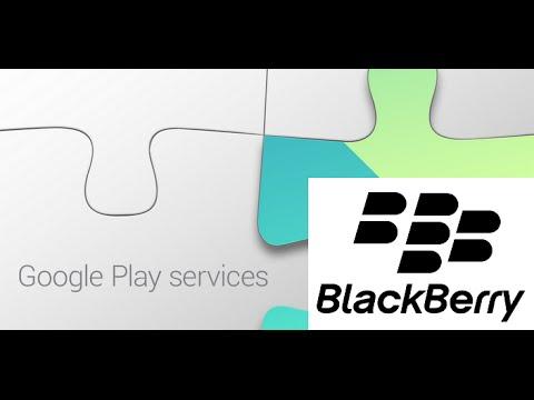 Instalar Google Play Services en BlackBerry 10