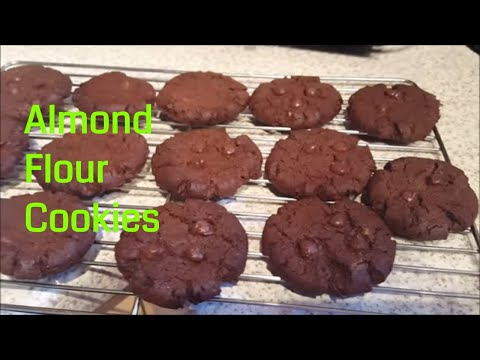 Easy To Make Almond Cookies --Paleo