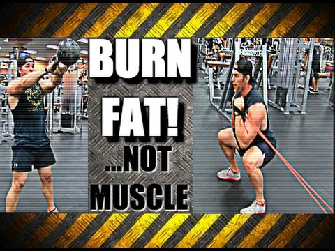 Burn Fat Without Losing Muscle or Strength [Total Body HIIT Routine]
