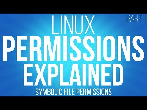 Linux file permissions explained. symbolic permissions and chmod - part 1