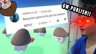 PERTAMA KALINYA! bikin game online yang bakal GW PUBLISH!!!