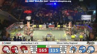 Quarterfinal 1 - 2017 Silicon Valley Regional