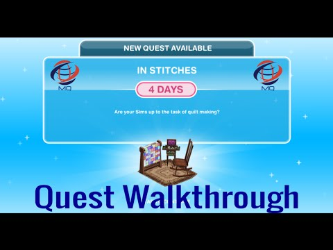 The Sims FreePlay - In Stitches Quest Walkthrough