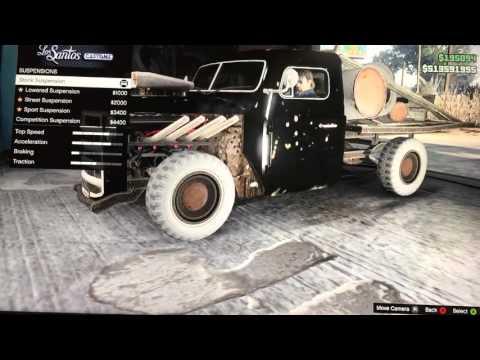 Gta online custom rat truck