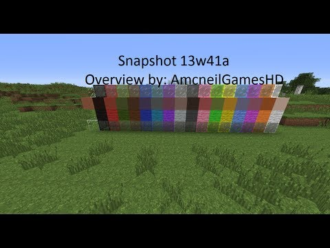 Minecraft: Snapshot 13w41a Review!