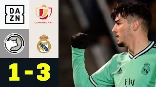 Brahim Díaz zaubert Salamanca weg: Salamanca - Real Madrid 1:3   Copa del Rey   DAZN Highlights