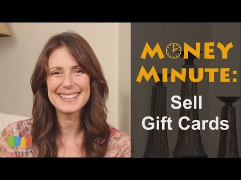 Money Minute: How to Sell Gift Cards