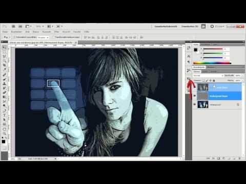 Photoshop CS5 - Zwei Varianten einen Comic-Look zu erzeugen