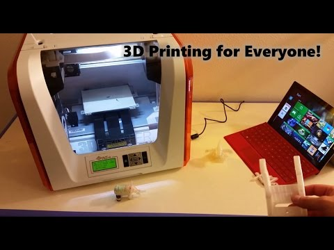 Absolute Beginner's Introduction to 3D printing At Home (Da Vinci Jr. 1.0 Printer)