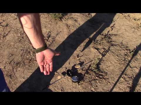 Using a Shadow Stick To Find True North