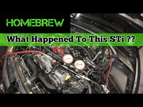 2013 STi Build Part 2 - Diagnosis Wha Happen?