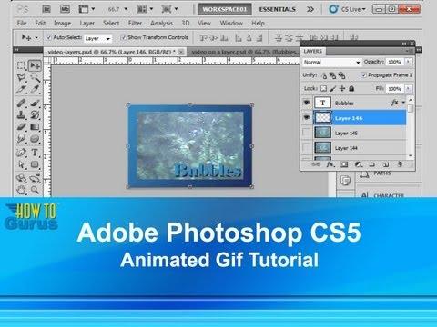 Adobe Photoshop CS5 Animated Gif Tutorial - Banner Animation in Photoshop