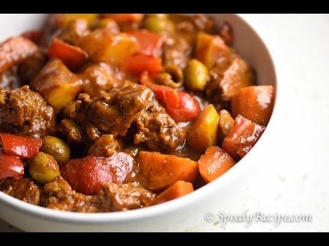 Beef Kaldereta (How to Cook Filipino Beef Stew)