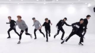 BTS 'Blood Sweat & Tears' mirrored Dance Practice