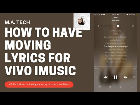 Vivo Y53: How to have MOVING LYRICS for your iMusic in your Vivo Y53