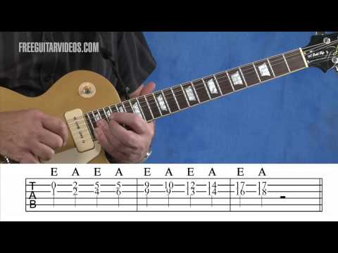 Soloing with Double Stops Guitar Lesson