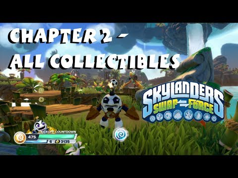 Skylanders Swap Force - Chapter 2 All Collectibles Cascade Glade