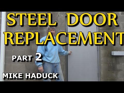 How I install a steel door (part 2 of 3) Mike Haduck