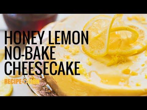 No-Bake Honey Lemon Cheesecake