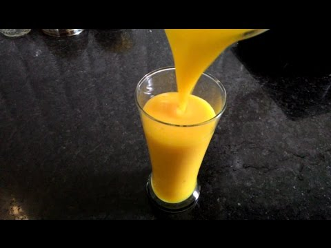 Mango Juice Recipe   Summer Special Juice Recipes in Telugu By Moms Tasty Recipes