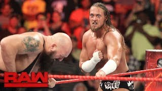 Big Cass silences Enzo Amore and Big Show: Raw, July 17, 2017