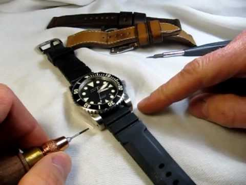 How to change out your watch strap (The StrapSmith)