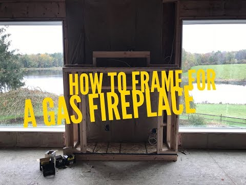 How to Frame for a Gas Fireplace