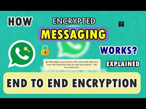 [HINDI] What is End to End Encryption? | How WhatsApp Messaging Works? | Are you Secure?