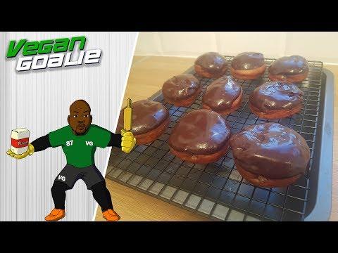 HOW TO MAKE VEGAN JAFFA CAKE DOUGHNUTS