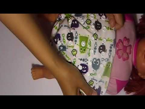 Baby Cloth Diapers How to Use