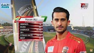 Hasan Ali big below in BPL 2017 16 of 6 balls Big two 6 6