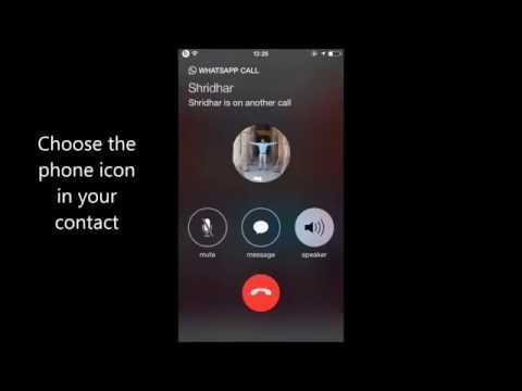 How to activate whatsapp calling feature in Ipad/Ipod