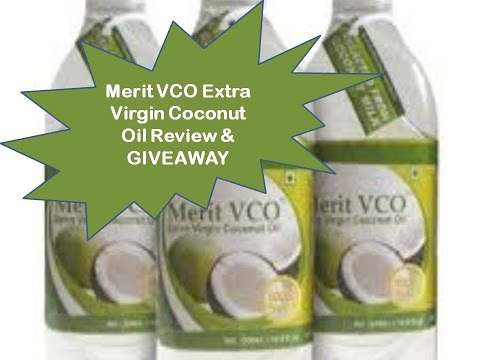 Merit VCO Extra Virgin Coconut Oil GIVEAWAY Closed + Review
