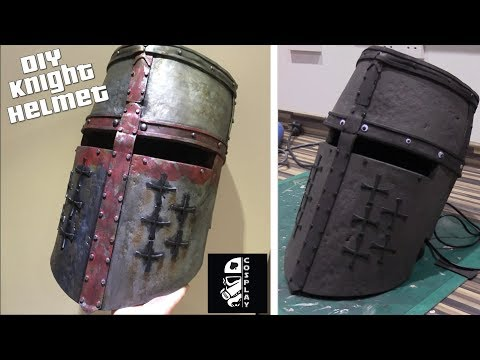 How to Make a Metal Helmet from Foam