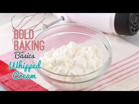 How to Make Whipped Cream - Gemma's Bold Baking Basics