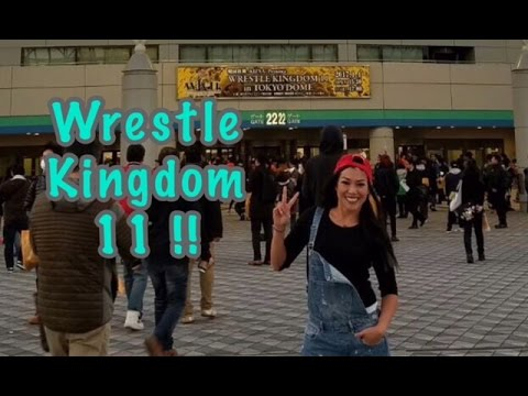 Wrestle kingdom 11 LIVE at Tokyo Dome ! Yes!