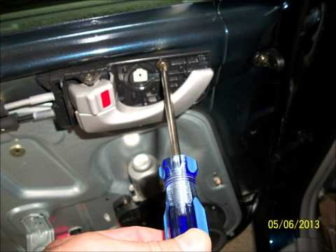 Replace 2006 Hyundai rear window regulator
