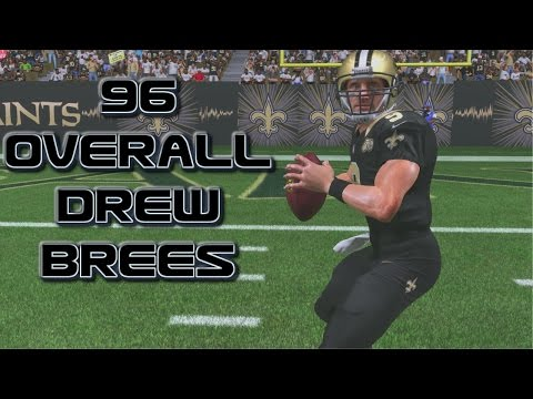 OMG NEW LEGEND 96 OVERALL DREW BREES | MADDEN 17 ULTIMATE TEAM REVIEW