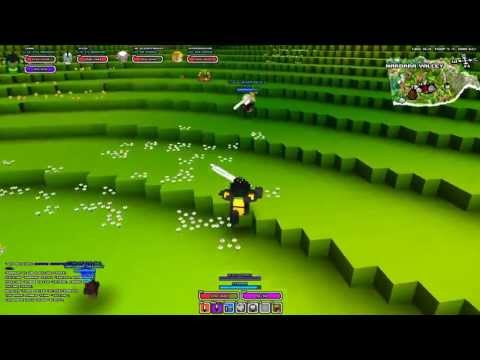 Cube World Pvp Warrior Gameplay