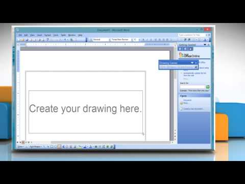 How to insert a text box in Microsoft® Word 2003