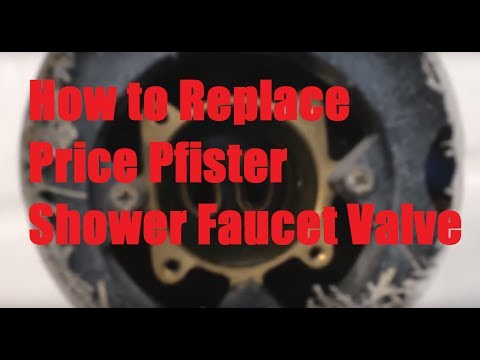 How to Replace Price Pfister Shower Faucet Valve (Fix Leak)