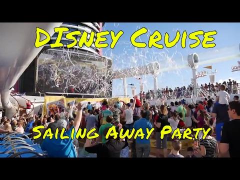 Disney Fantasy Cruise Boarding Tips - Sailing Away Party