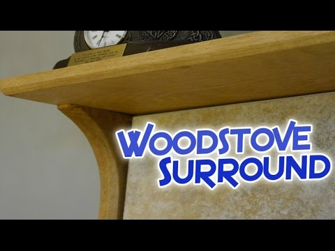 Custom Wood Stove Surround