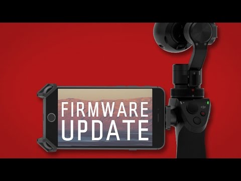 How to update the firmware | DJI Osmo