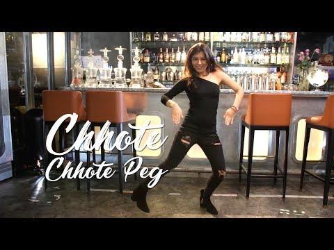 Chhote Chhote Peg | Sonu Ke Titu Ki Sweety | Bollywood Dance Cover by Hanisha & Dhiresh