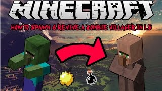 How To Spawn Cure Zombie Villagers In Minecraft 18