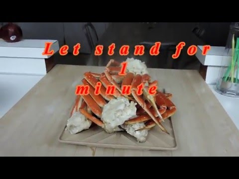 How to cook Snow Crab Legs