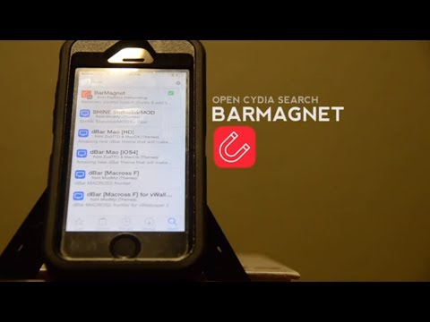 How To: Setup the jailbreak app BarMagnet
