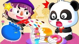 Learn Colors with Baby Panda   Color Song   Nursery Rhymes   Kids Songs   Baby Songs   BabyBus